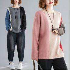 (F7761) 針織上衣 (大碼款)