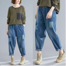 (F7789) 牛仔褲 (大碼款)