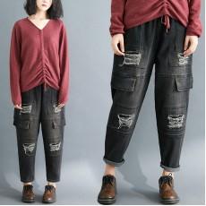 (F7796) 牛仔褲 (大碼款)