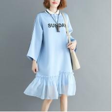 (F7739) 連身裙 (大碼款)