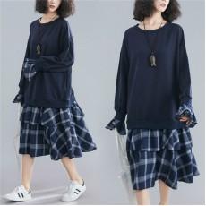 (F7740) 連身裙 (大碼款)
