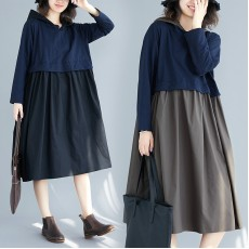 (F7758) 連身裙 (大碼款)