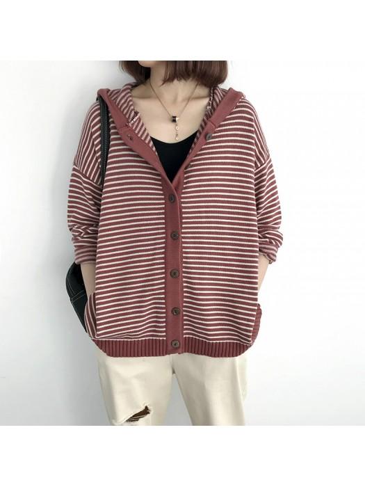 (NA2011) 簡約針織外套