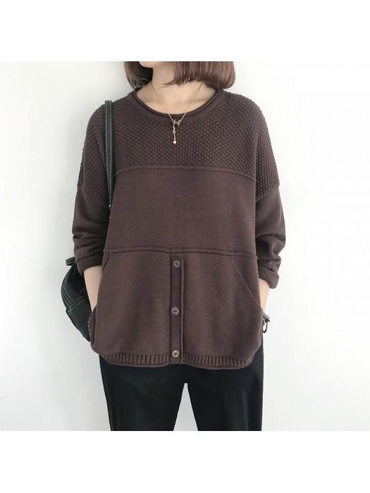 (NA2012) 簡約針織上衣