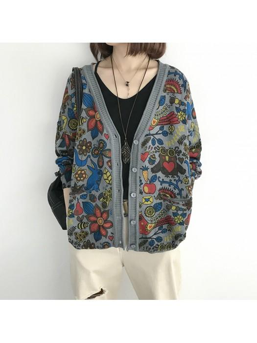 (NA2014) 簡約針織外套