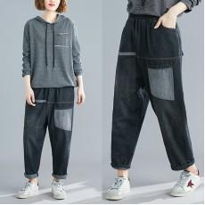 (F7669) 牛仔褲   (大碼款)