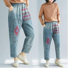 (F7685) 牛仔褲 (大碼款)