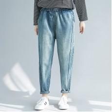 (F7689) 牛仔褲 (大碼款)