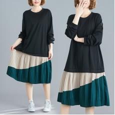 (F7693) 連身裙 (大碼款)