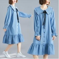 (F7695) 連身裙 (大碼款)