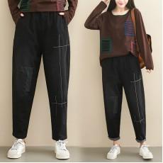 (F7703) 牛仔褲   (大碼款)