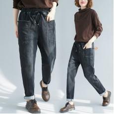 (F7706) 牛仔褲 (大碼款)