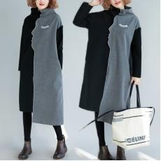 (F7714) 連身裙 (大碼款)