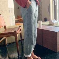 韓國直送45th 牛仔褲0821