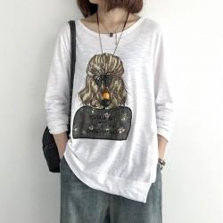 (NA1793) 簡約棉質上衣