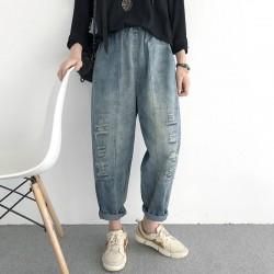 (NA1800) 簡約牛仔褲