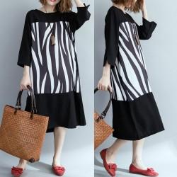 (F7145) 連身裙 (大碼款)
