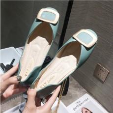 (SH009) 金屬扣平底鞋