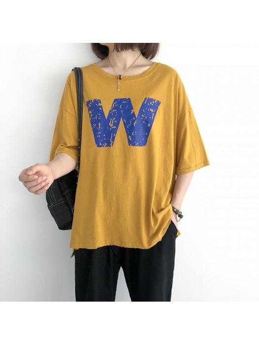 (現貨粉色)(NA1446) 簡約棉質上衣
