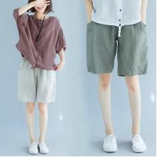 (綠L有現貨)(F5264) 短褲 (大碼款)