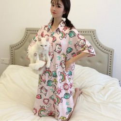 (A1951) 印花圖案睡裙