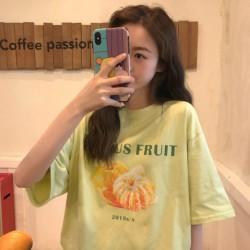 (A1955) 水果印花圖案TEE上衣