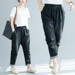(F5220) 牛仔褲 (大碼款)