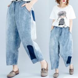 (F5221) 牛仔褲 (大碼款)