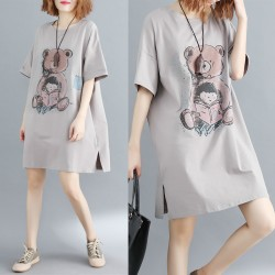 (F5227) 連身裙 (大碼款)