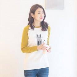 韓國直送tiramisustyle TEE上衣0324