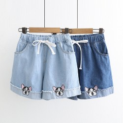日系(WA8293) 牛仔短褲