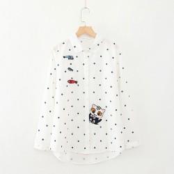 日系(WA8299) 貓 恤衫