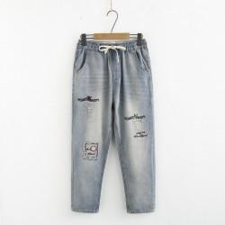 日系(WA8301) 牛仔褲