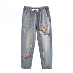 日系(WA8302) 牛仔褲