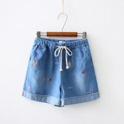 日系(WA8303) 牛仔短褲