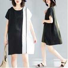 (F5181) 連身裙 (大碼款)