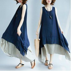 (F5190) 連身裙 (大碼款)