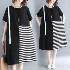 (F5202) 連身裙  (大碼款)