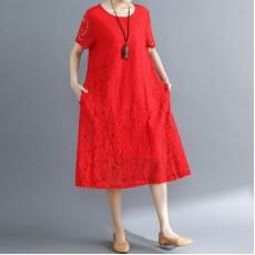 (F5203) 連身裙 (大碼款)