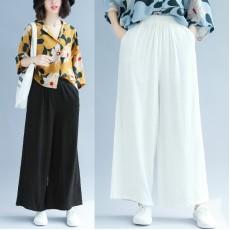 (F5205) 闊腿褲 (大碼款)