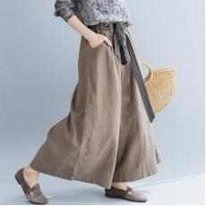 (F5215) 闊腿褲 (大碼款)
