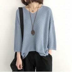 (NA1361) 簡約針織上衣