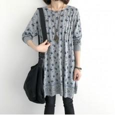 (NA1371) 簡約針織連身裙