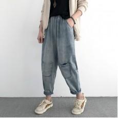 (NA1373) 簡約牛仔褲