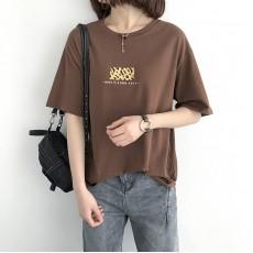 (NA1378) 簡約棉質上衣
