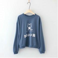 日系(WA8271) 貓 上衣