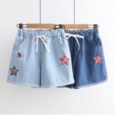 日系(WA8285) 牛仔短褲