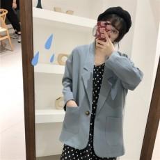 (A1923) 寬鬆西裝外套