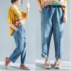 (F5161) 牛仔褲 (大碼款)
