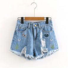 日系(WA8240)  牛仔短褲